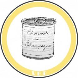 Sauerkraut in Champagne