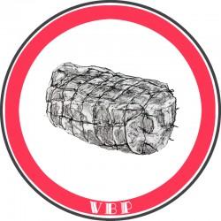 Pork spare ribs roast